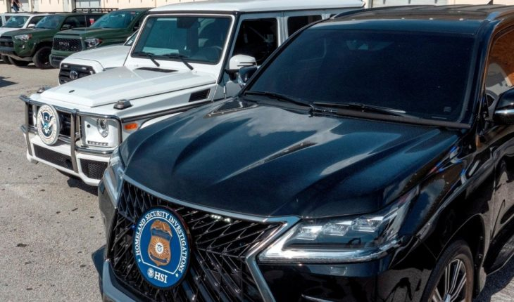 US government confiscates vehicles to be sent to Venezuela