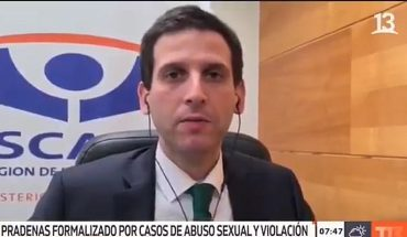 [VIDEO] Channel 13 said that correspondent phrase in case of Antonia Barra was heard out of context