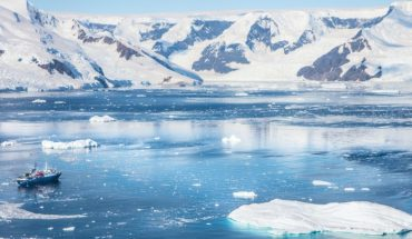 Why does the South Pole heat up so fast?