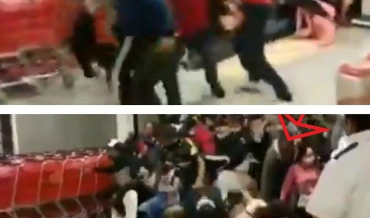 Women are trampled on during Supermarket Stampede in Chilpancingo, Guerrero