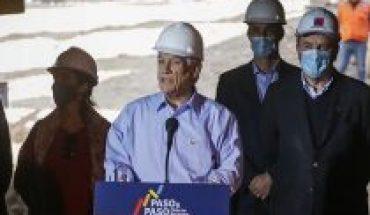 """""""Paso a Paso, Chile se recupera"""": Piñera lanzó plan de inversiones públicas por más de US$34 mil millones en dos años"""