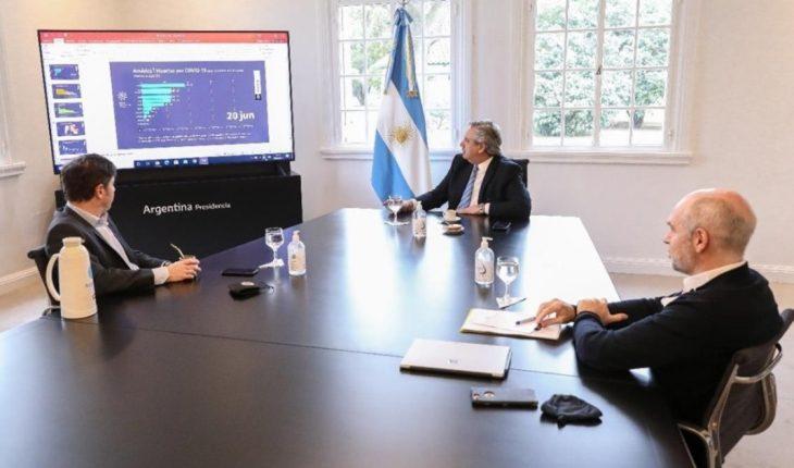 Alberto Fernández presentará los anuncios de la nueva fase con un mensaje grabado