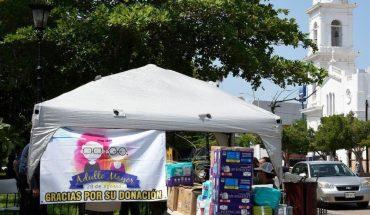 Ancianos del albergue Santa Rosa de Los Mochis reciben apoyos