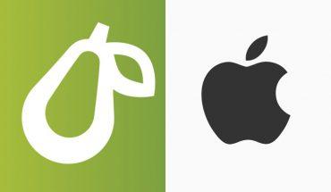 """Apple mete demanda a marca con logo de pera por ser """"parecidos"""""""
