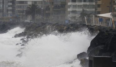 Armada alerta ante intensas marejadas entre las costas del Golfo de Penas y Arica
