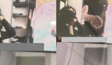 Asaltaron y amordazaron a una chica mientras estaba en clases por Zoom
