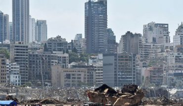 "Autoridades no descartan acción de ""fuerzas extranjeras"" en explosión de Beirut"