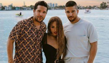 """Cali y El Dandee presentan """"Nada"""" junto a Danna Paola: talento latino"""