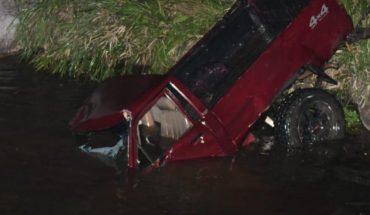 Camioneta cae a un precipicio en Mocorito, Sinaloa