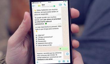 """Ciudad lanza un chatbot para el seguimiento de """"contactos estrechos"""""""