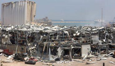 Ciudadanos de Beirut protestan por explosión