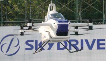 Compañía japonesa pone a prueba por primera vez con éxito un auto volador tripulado