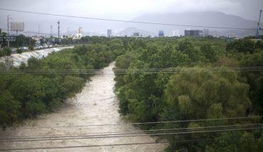 Declaran en desastre a 41 municipios de Nuevo León por daños de Hanna