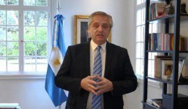 El anuncio de Alberto Fernández vía redes sociales sobre la extensión de la cuarentena