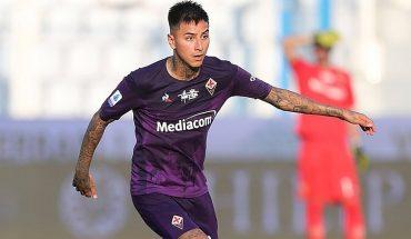 Erick Pulgar anotó y dio una asistencia en triunfo de la Fiorentina