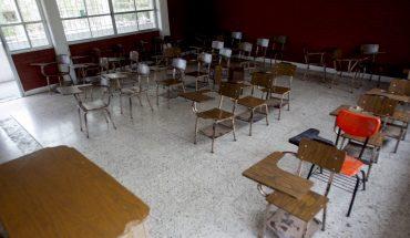 Estudiantes no regresan a las aulas, inicio del ciclo escolar será a distancia