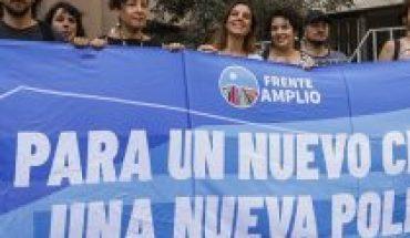 """Frente Amplio sale a aclarar que hoy está enfocado en el triunfo del Apruebo ante críticas opositoras a su """"camino propio"""" en materia presidencial"""