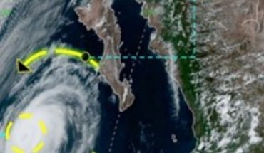 Huracán Elida se localiza en Baja California, provocará olas de 2 metros