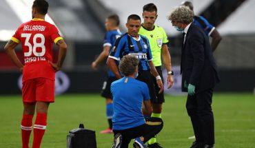 Inter venció 2-1 al Leverkusen y clasifico a semis de la Europa League: preocupó tirón de Alexis