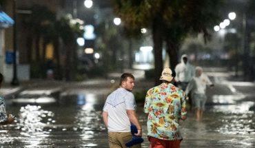 Isaías toca tierra en Carolina del Norte, Estados Unidos como huracán categoría 1