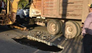 JAPAMA cierra vialidad tras detectar socavón en el colector Degollado