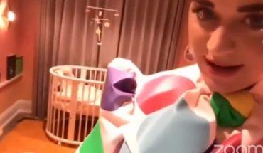 Katy Perry mostró la habitación de la bebé que trendrá junto a Orlando Bloom