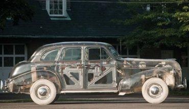 La historia del primer auto transparente fabricado en Estados Unidos