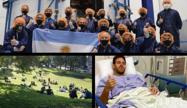 Lanzan el satélite argentino Saocom 1B, cómo serán los encuentros al aire libre en la Ciudad, Del Potro recibió el alta y mucho más...