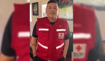 Maradona se sumó a Juntos por Sudamérica, el desafío de la Cruz Roja y Conmebol