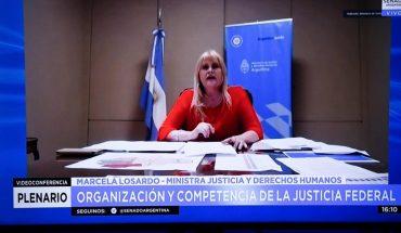 """Marcela Losardo: """"para nosotros la Justicia no es un gasto, estamos invirtiendo"""""""