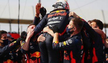 Max Verstappen cortó la racha de Mercedes y se llevó un gran triunfo en Silverstone