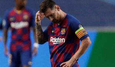 Messi gestiona una reunión con Bartomeu para definir su salida de Barcelona