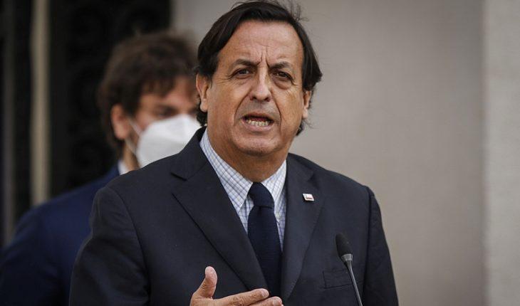 """Ministro Pérez por recurso de defensa de Celestino Córdova: """"Acataremos la resolución que la Corte Suprema determine"""""""