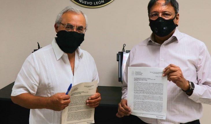 NL presenta denuncia penal contra Pemex por derrame en arroyo