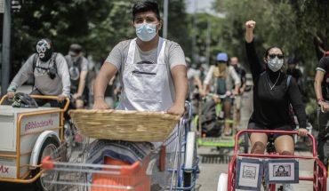 Organizan rodada contra la criminalización del trabajo