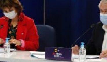 """Plan """"Paso a Paso"""": ministro Paris reconoce preocupación ante críticas por problemas de trazabilidad y nuevos contagios siguen sobre los 2 mil casos"""