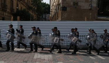 Policías tendrán número de identificación visible durante marchas en CDMX