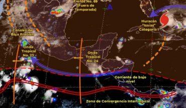 Pronóstico del clima de hoy: Continúan las fuertes lluvias en gran parte de México