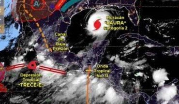 """Pronóstico del clima de hoy: Depresión Tropical """"Trece-E"""" provocará lluvias en México"""
