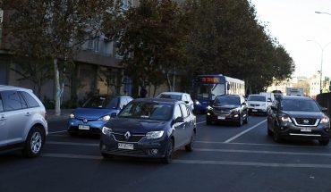 RM registró incremento en uso de transporte público y flujos vehiculares