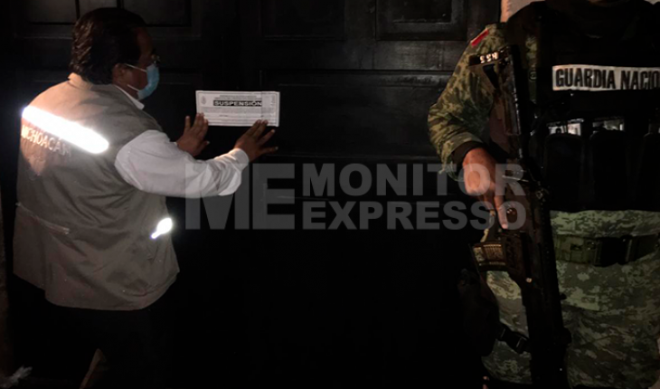 SSM suspende seis establecimientos nocturnos de Morelia
