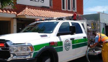 Se incendia segunda planta de una casa en Residencial del Valle en Los Mochis, Sinaloa
