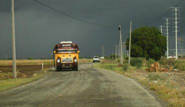 Se presentan las primeras lluvias moderadas en Ahome