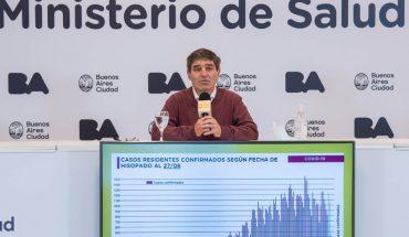 """Según Quirós """"la curva está estable hace 7 semanas"""" pero no hay que relajarse"""