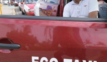 Taxistas reportan poco pasaje en Mazatlán