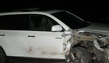 Tres lesionados en accidente en carretera Internacional en Ahome.