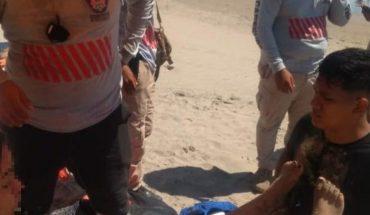Turista es atendida tras sufrir desmayo en la Isla de la Piedra, Mazatlán
