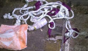 Un preso intentó fugarse de la cárcel con una soga hecha de sábanas