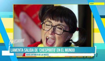 'La Chilindrina' lamenta salida de 'Chespirito' de la TV| El Chismorreo