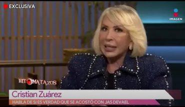 Cristian Suárez se defiende de pelea con Laura Bozzo | Vivalavi